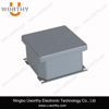Sealed Durable High Precision ADC12 Aluminum Alloy Weatherproof Enclosure with External Mounting Bracket