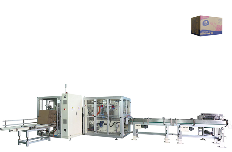 OK-102 With Photoelectric Eye Automatic Detection Tracking System Tissue Packing Machine Manufacturers China Indonesia