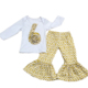 Wholesale custom new outfits baby girl clothing boutique kids design clothes set