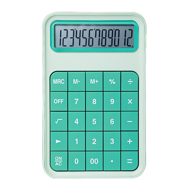 Creative Products 2019 Compact Pocket Calculator Hot Selling 12 Digit Calculator