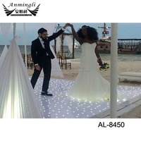 Newest Waterproof Acrylic Starry Dancing Twinkling LED Starlit Dance Floor for Wedding Party Light