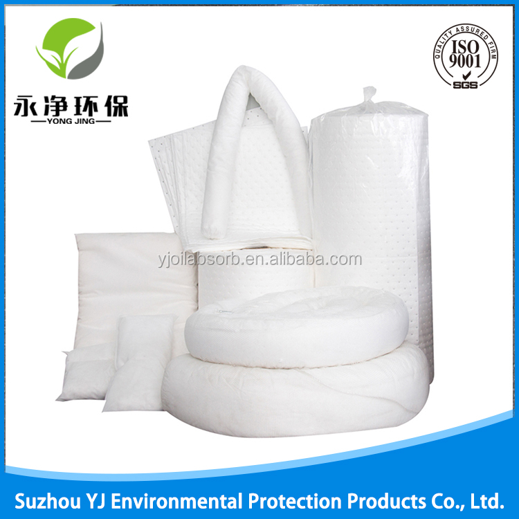 100% Melt Blown Polypropylene Oilonly Absorbent Pads