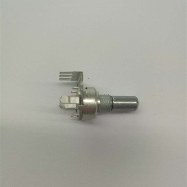 New style 10k 100k ohm rotary linear switch potentiometer stereo volume controlwith konb with 6 pins Rohs