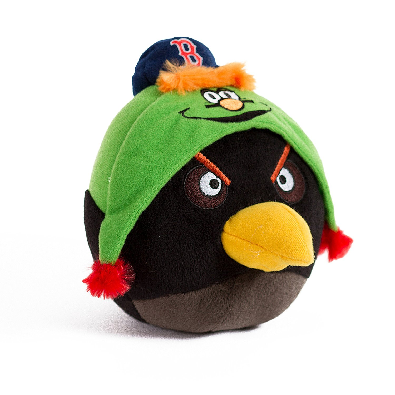 Buy Mlb Boston Red Sox Angry Bird Plush Toy Small Black In Cheap