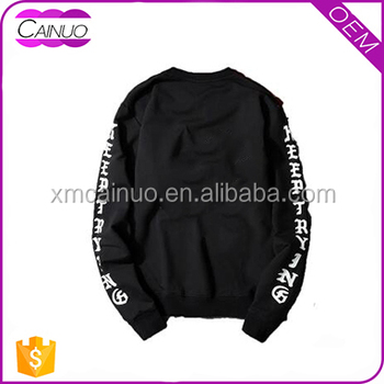 China OEM service custom t-shirts letter printing t shirt dri fit long sleeve t shirts