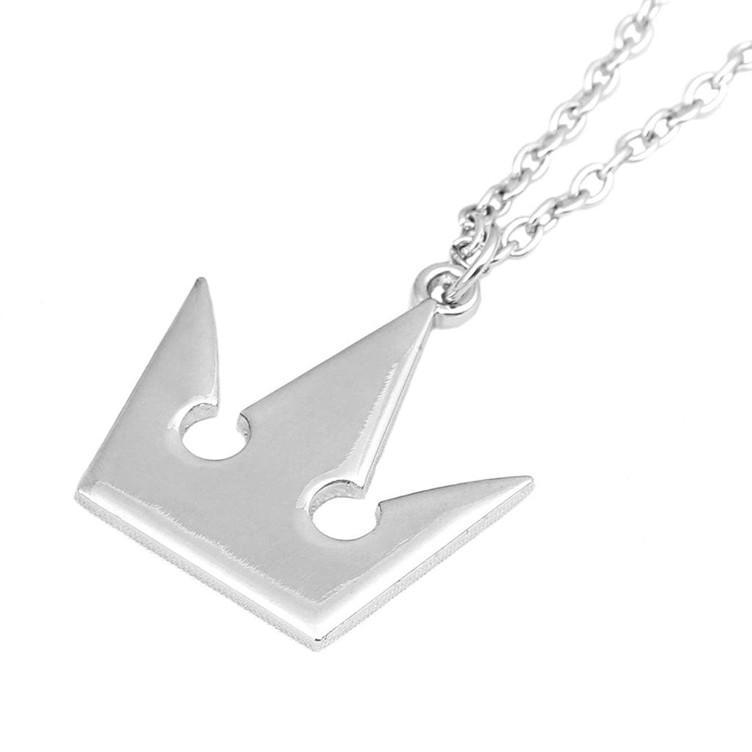 Coser Kingdom Hearts: Silver Crown Necklace 6feIkE