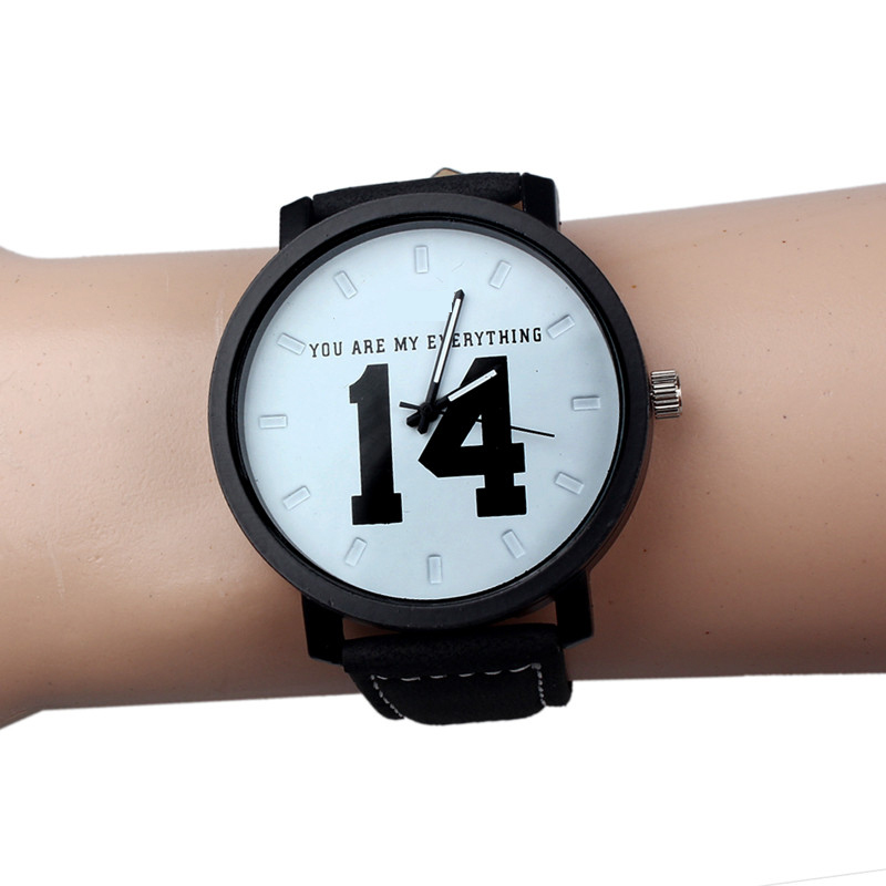 Hot sale italian leather watch straps with custom logo luxury fashion watch