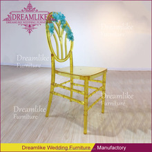 modern rent plastic yellow chair used hotel wedding