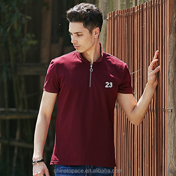 Casual Man Clothing Simple Rugby Shirt Mens Cotton Solid Color Drop Shipping No On Polo