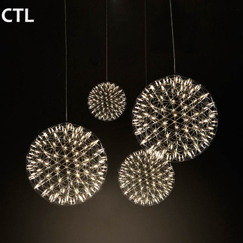 Hotel custom chandeliers led Mall decoration chandeliers Nordic simple personality pendant lights