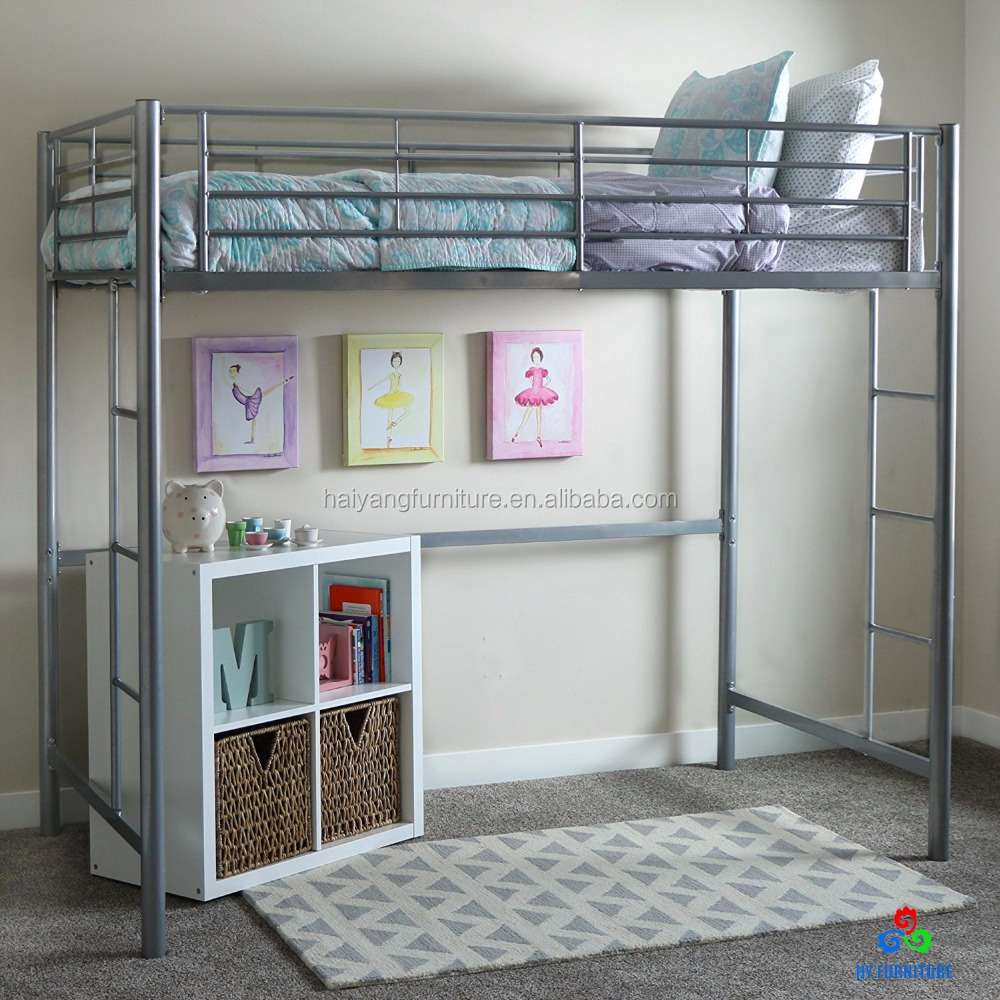 Cheap Twin Metal Loft Bed Wholesale