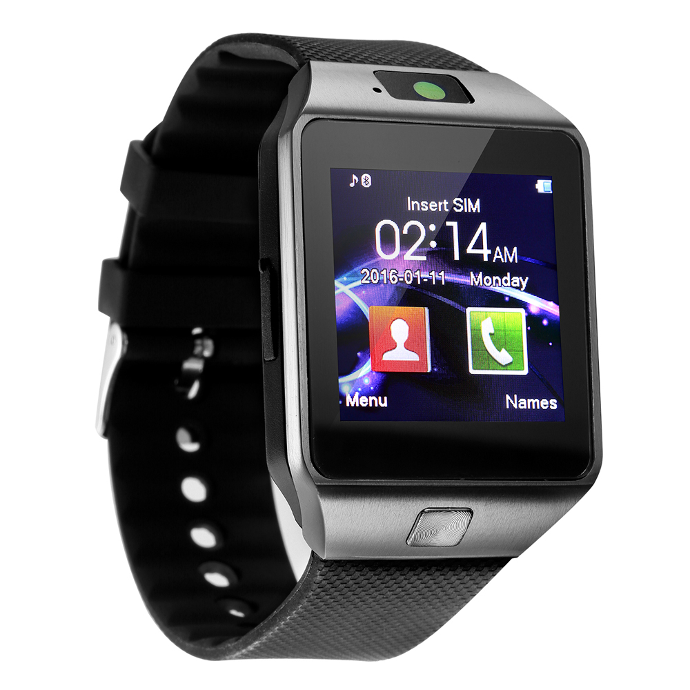 2019 hot 3g wifi dz09 sim card smart watch phone