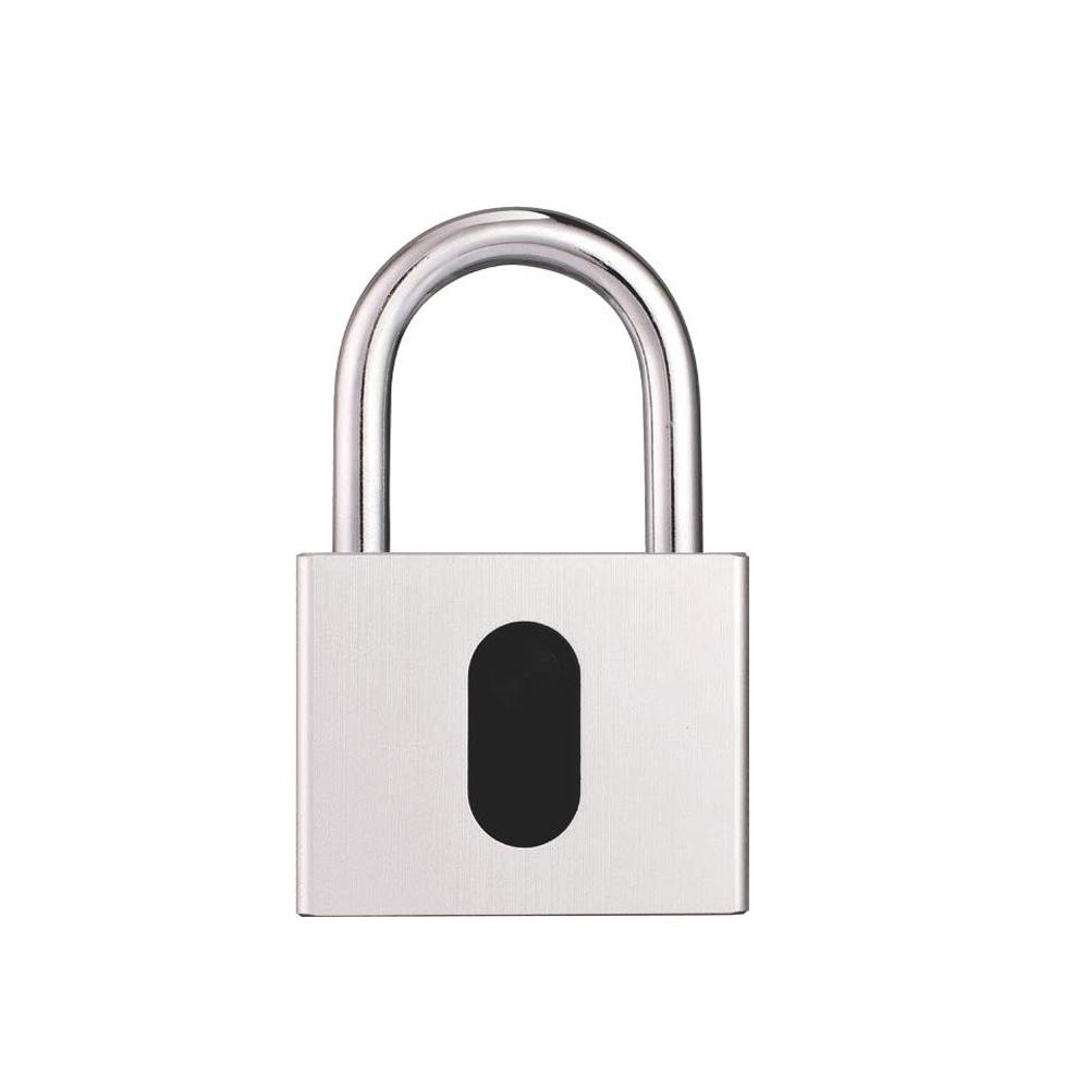 Nieuwe Aankomst Metalen Vingerafdruk Hangslot Elektronische Biometrische Smart Lock