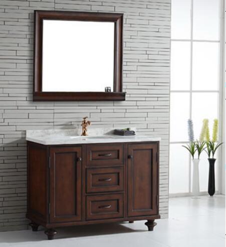 Nouveau design debout libre lowes salle de bains vanité combo ...