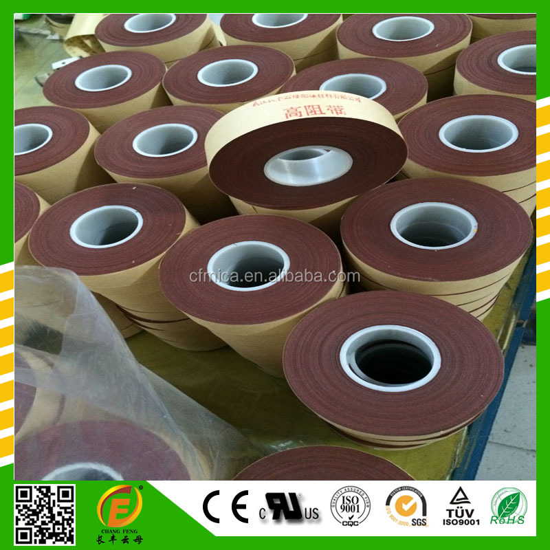 High-resistance anticorona tape with epoxy resin from China manufacutre