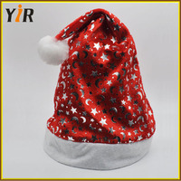 new product Plush/Non-woven Santa Hat/Christmas Hat Promotions