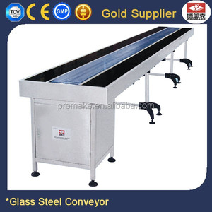 Promake 8M Glass Steel Mobile Conveyor Belt Systems