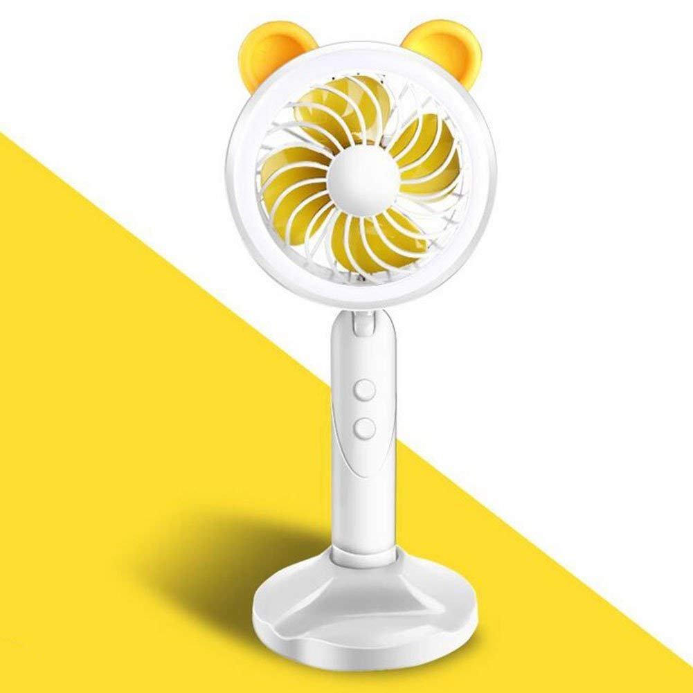 black-A FJY Mini Table Desktop Fan USB Portabl Small Desk Personal Fan Air Circulator for Table Work Home Outdoor Office Laptop Computer PC Traveling Camping PN001