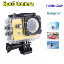 New Style Hot Sale W9 Sport Action Camera 1080P Full HD Waterproof Camcorders Hero 3 Hero3 Style SJ4000 Sport camera DV