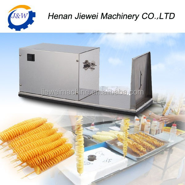 Home Use Manual Twist Potato Cutting Machine For Tornado Potatoes