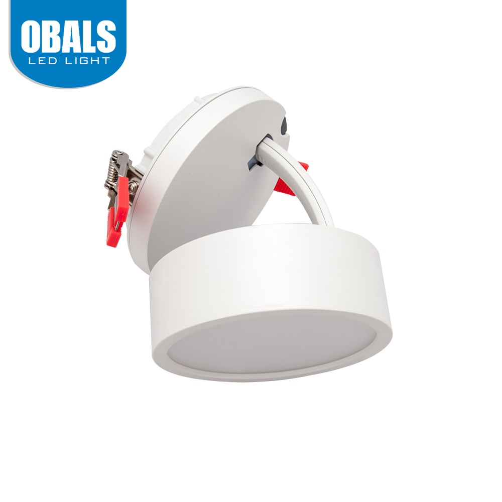Obals 8 inch ceiling 10w cob led retrofit recessed spot <strong>downlight</strong> with saa