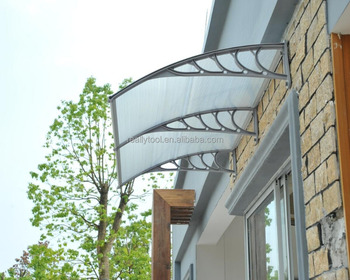 80*120 Front Door Awning Canopy With Uv Polycarbonate Awning For Rain - Buy  Front Door Canopy Product on Alibaba com