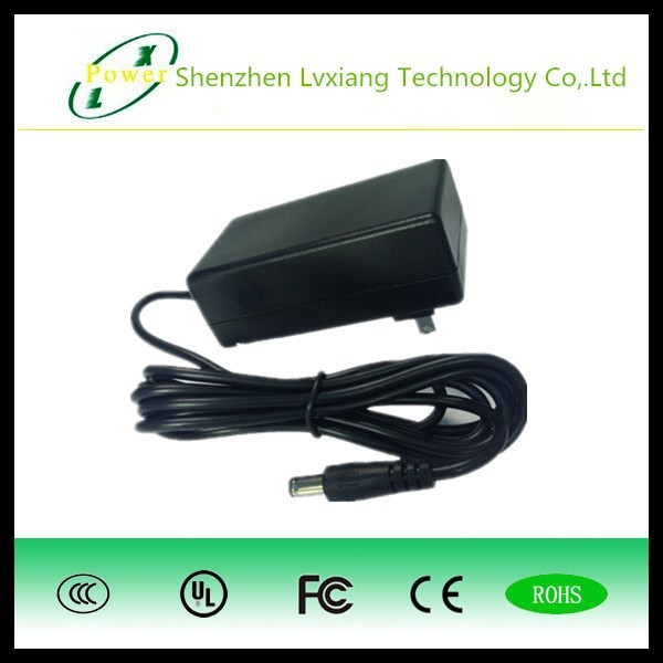international pin power adapter 36W series interchangeable plug AC/DC adapter with UL FCC CE GS BS etc certificate