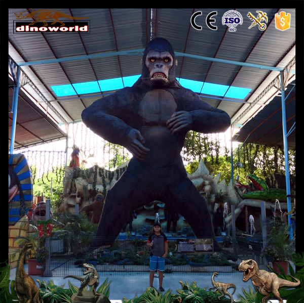 DW-0550 High Simulation Life Size Animated King Kong