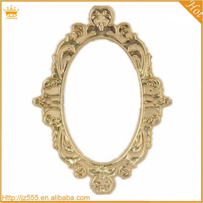 Promotional plastic gold picture painting frame