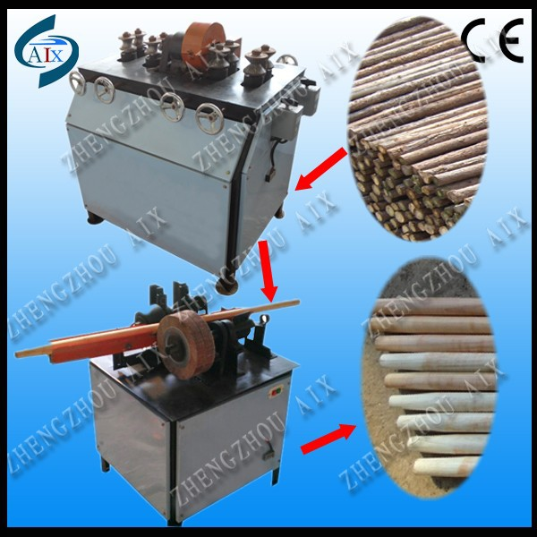 Shovel handle broom handle processing machine wooden handle machine
