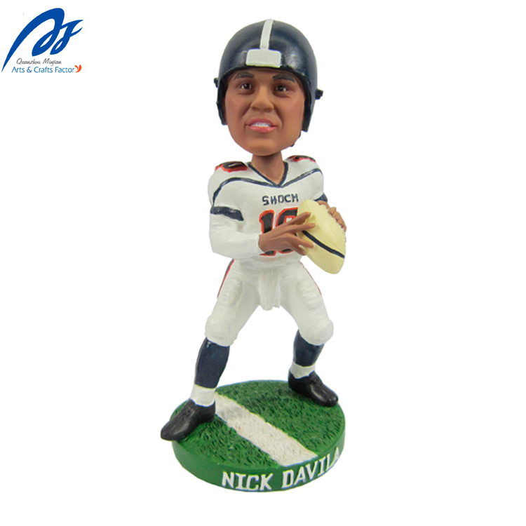 เรซิ่น Figurine Bobble Head Sport Custom Bobblehead