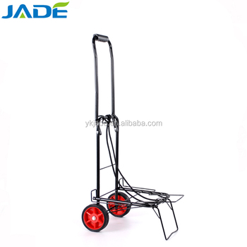 Hot sale hand trolly with two wheels Folding luggage cart