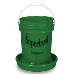 Nasco Superbowl Poultry Feeder Bucket with Base - C20070N