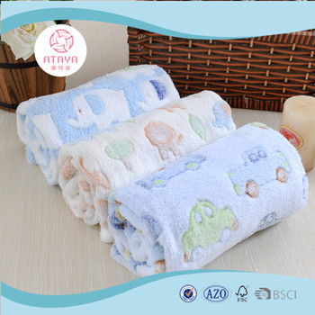 6e93e1be09e2 100% Polyester Soft Jacquard Baby Cute Newborn Blankets - Buy ...