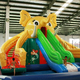 banzai inflatable water slide, inflatable floating water slide