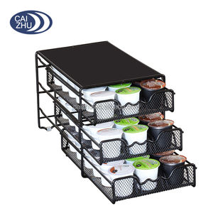 3 Tier Keurig K cup Coffee Pod Drawer Storage Holder for 54 Pods