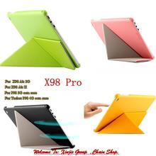 """Teclast P98 3g 4G Octa Core 9.7 """" Tablet PC /  X98 AIR 3G  /  AIR II / X98 Pro PU Leather Transformers Case Protective Cover"""