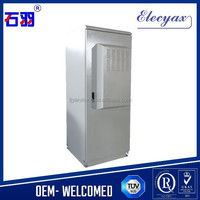 42u,19 inch rack metal enclosure/SK-366 outdoor telecom shelters cabinet with air conditioner