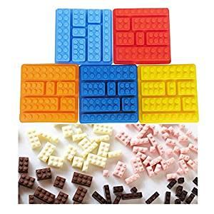 90559 Silicone Brick Style Square Ice Mold Chocolate Mold Cake Jello Mold Building 93txypfd Blocks Ice Tray DIY-Randomly sent 788e9k3lj uiobvx dwe34rt Features, 1.100% FDA food gr