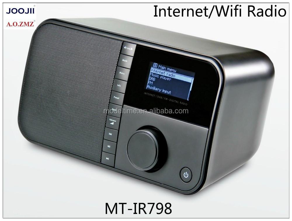 wifi horloge radio soutien dab et fm radio radio portatif. Black Bedroom Furniture Sets. Home Design Ideas