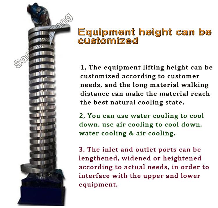 vertical spiral conveyor