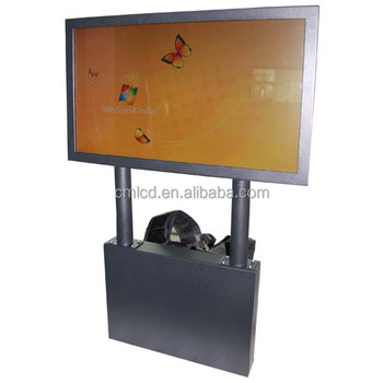 Portable Exhibition Board : Portable display board tri fold a blue for school office