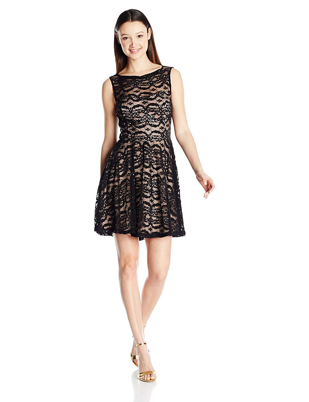 Jump Juniors Short Strapless Glitter Treebark Dress