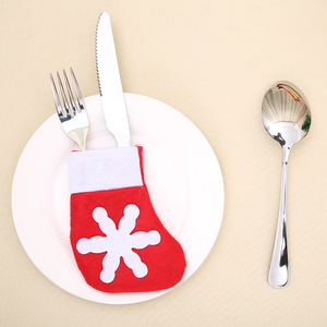 Knife and Fork Bags New Table Decoration Christmas Gift Home Decor Ornaments