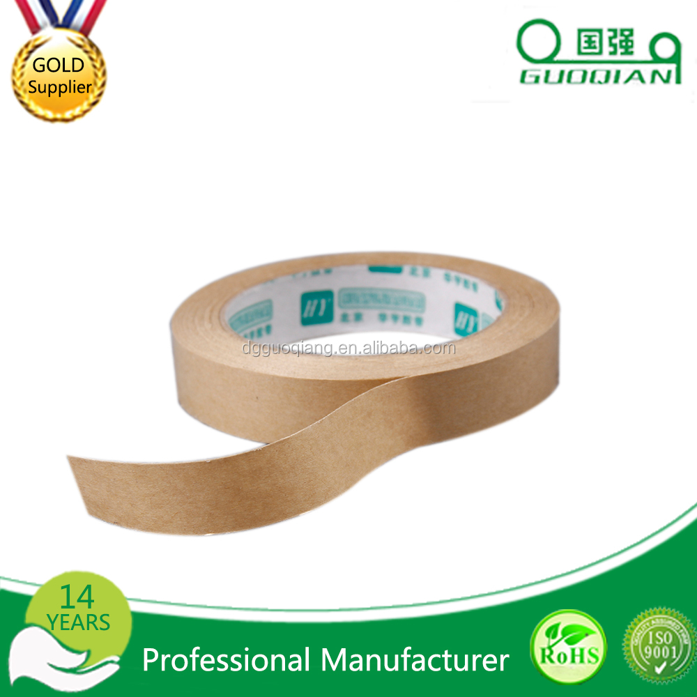 wholesale water-activated kraft paper gummed tape with ranch wall siding waterproof reinforced