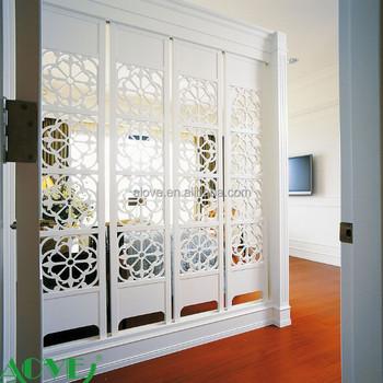 Waterproof Wpc Pvc Wooden Screen Room Divider Buy Decorative