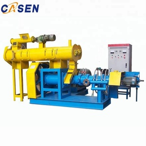 quality animal feed soybean extruder