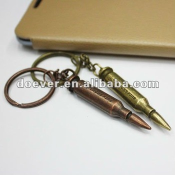Cool Design Bullet Keychain Made of Zinc Alloy