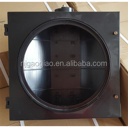 300mm polycarbonate traffic light housing with UV resistance, high intensity
