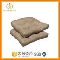 High Quality Orthopedic Foam Patio Wooden Chair Seat Pad Cushion